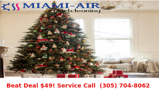 Get Duct Cleaning Done this Christmas Season